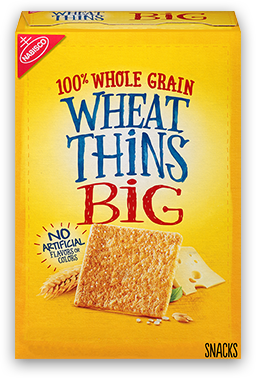 Wheat Thins BIG Whole Grain Wheat Crackers