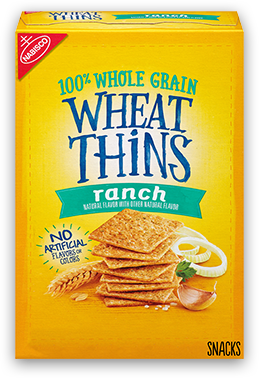 Wheat Thins Crackers, Ranch Flavor