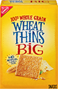 Wheat Thins BIG Whole Grain Wheat Crackers Small