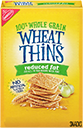 Wheat Thins Reduced Fat Whole Grain Wheat Crackers Small